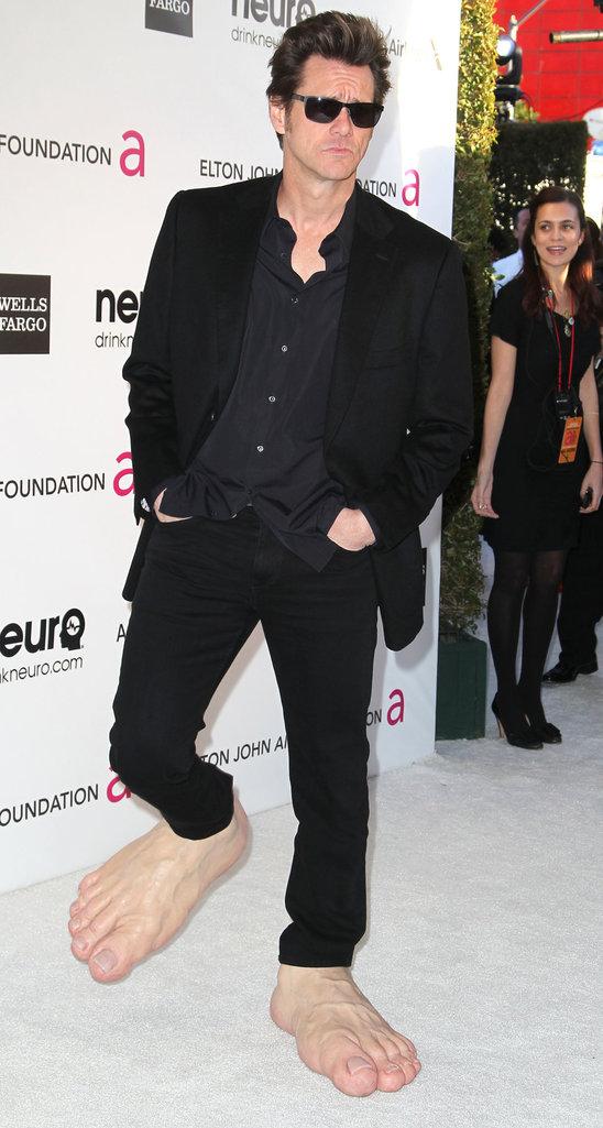 Jim Carrey Oscar 2013 Jim Carrey on o...