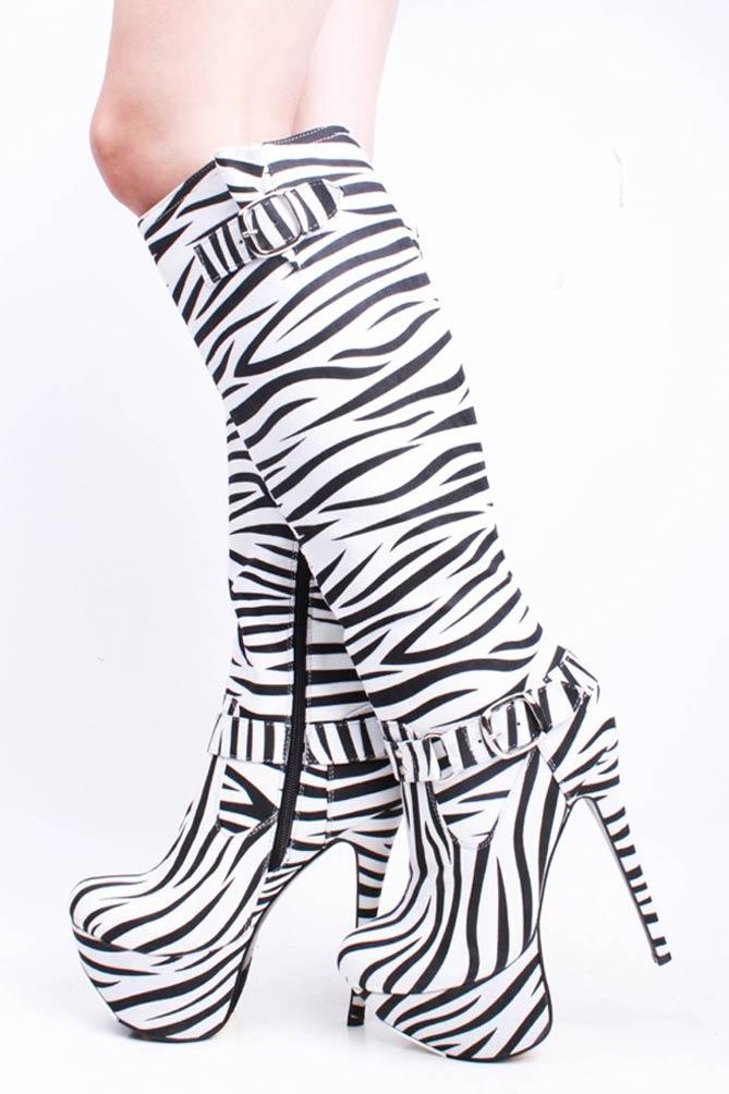 Animal Heel Shoes