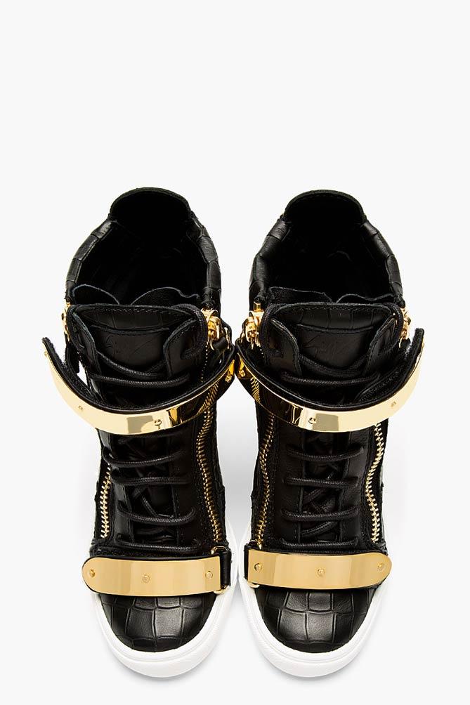 All Black Giuseppe Shoes