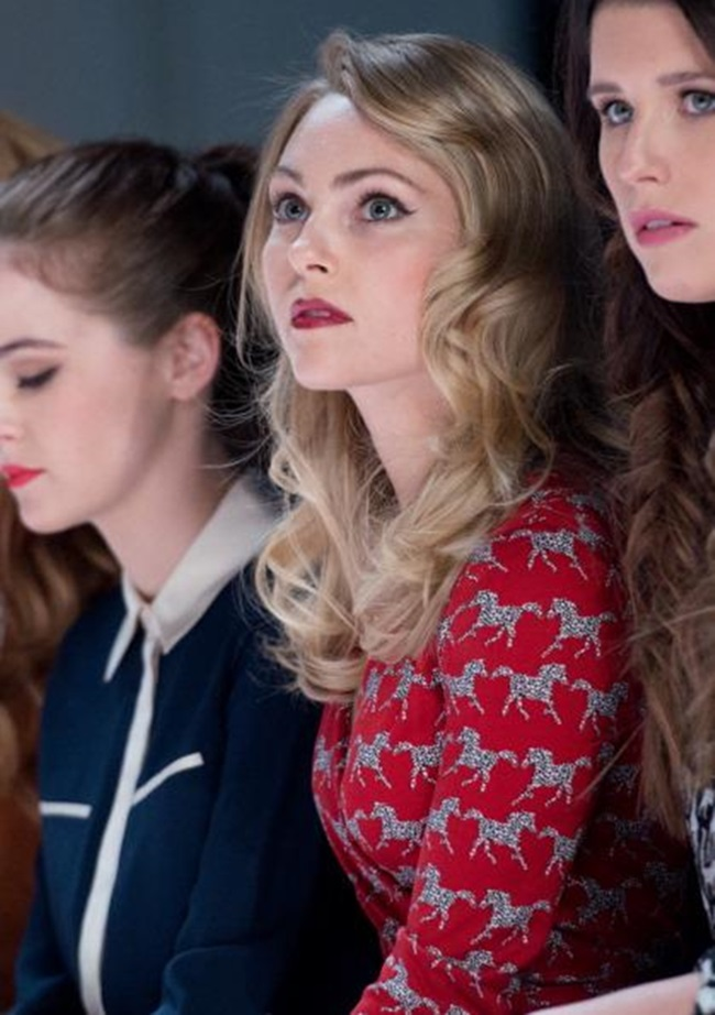 Annasophia Robb Of Quot Carrie Diaries Quot Mixes Prints Fab Or