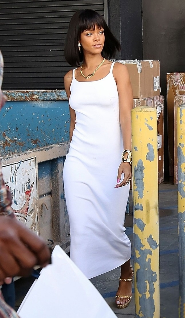 Rihanna real hair