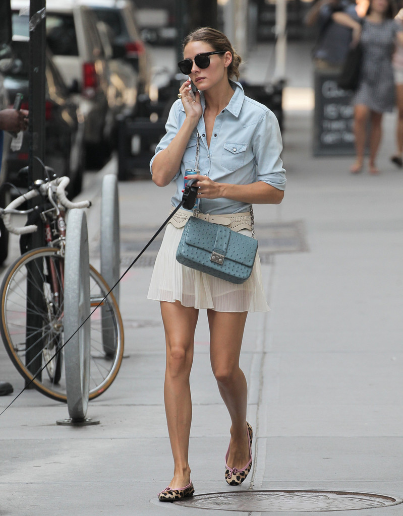 Olivia Palermo Ditched The Heels For Ballet Flats On A