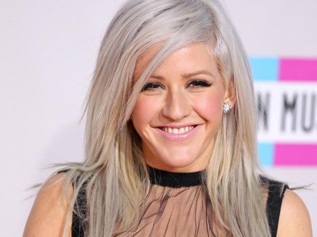 Ellie Goulding 2013 Hair