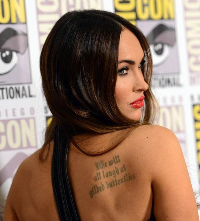 c03b187290d Megan Fox Puts On Heavy Make Up for 2014 Comic-Con Presentation