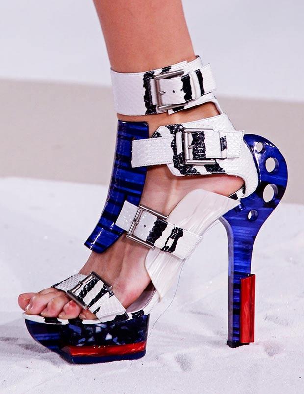 Nicki Minaj Warrior Shoes From Alexander Mcqueen Shoes Post