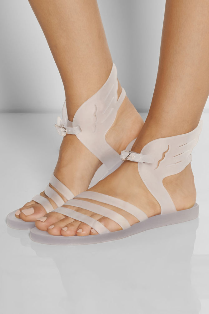 Ancient Greek Sandals Ikaria Rubber Wing Sandals Shoes Post