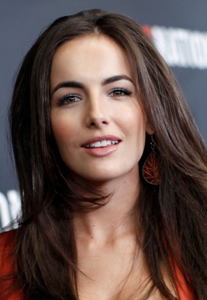 Camilla Belle Is Pretty In Pink In Her New Blond Hair