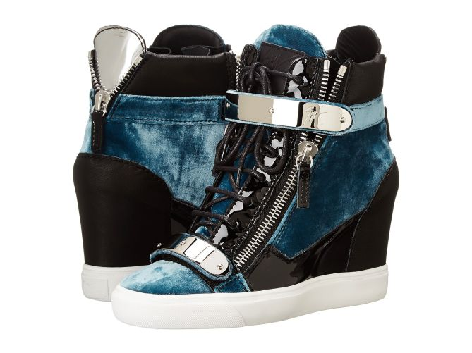 New Giuseppe Zanotti Sneakers 28 Images Giuseppe Zanotti Black Suede Gold Trimmed August
