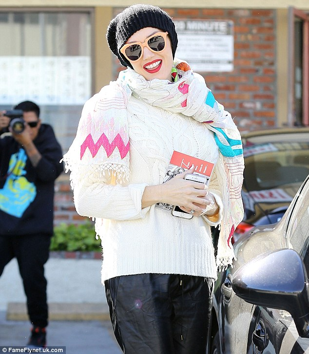 Gwen Stefani Steps Out In Multicolored Attire Do You Approve