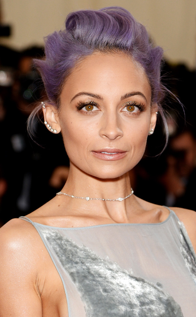 How Nicole Richie Makes Extra Shiny Boots Look Cool