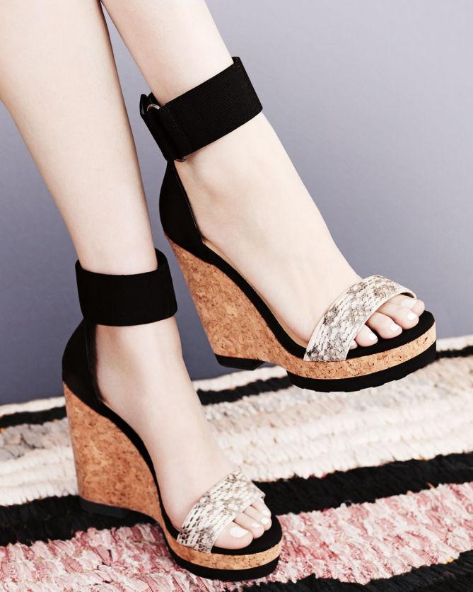 4a414bbcde0 Jimmy Choo Neston Snake Wedge Sandal - Shoes Post