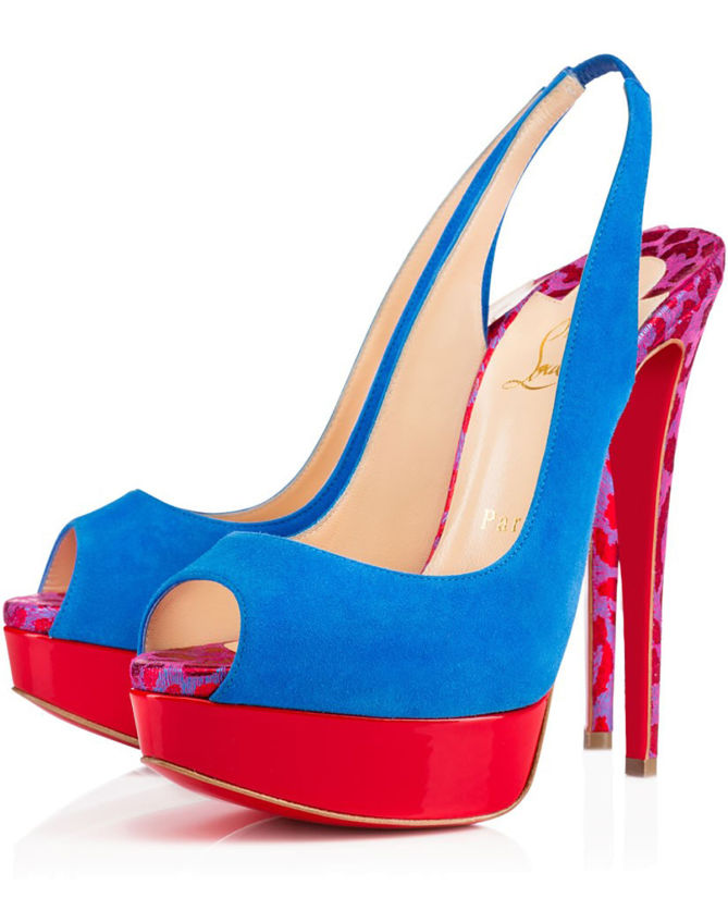 ba37c074ac1 Christian Louboutin Lady Peep Sling 150 mm - Shoes Post