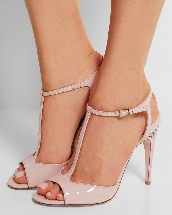 Fendi Patent Leather Sandals gSDZhW