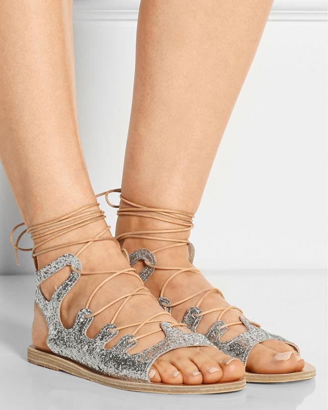 Ancient Greek Sandals Amphipolis Leather Sandals ...