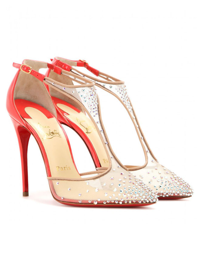 buy online fbede d5971 CHRISTIAN LOUBOUTIN Salopatina 100 Embellished Pumps - Shoes ...