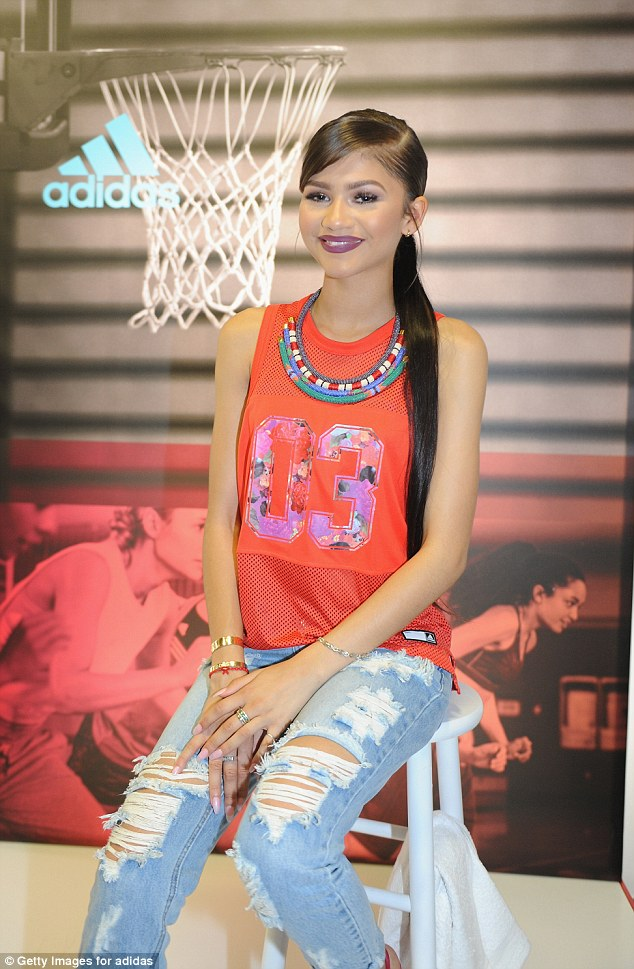 Zendaya Coleman Shows Us How To Look Glam In A Sports