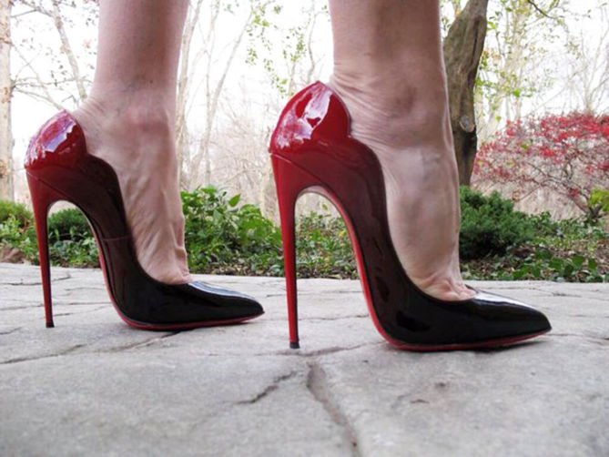 2ea3f2ce1be8 cheap hot chick black patent pumps christian louboutin louboutinoutlet