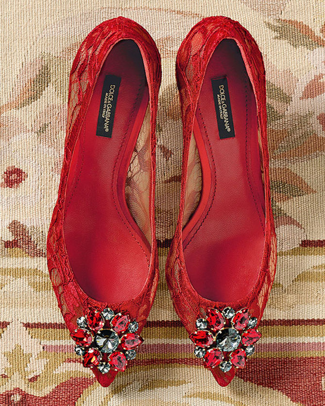 Belluci pumps - Red Dolce & Gabbana XDCGZt