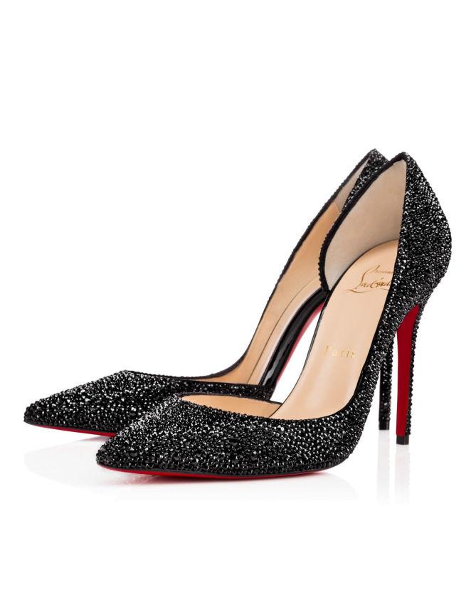 Christian Louboutin Iriza Strass 100 mm Shoes Post
