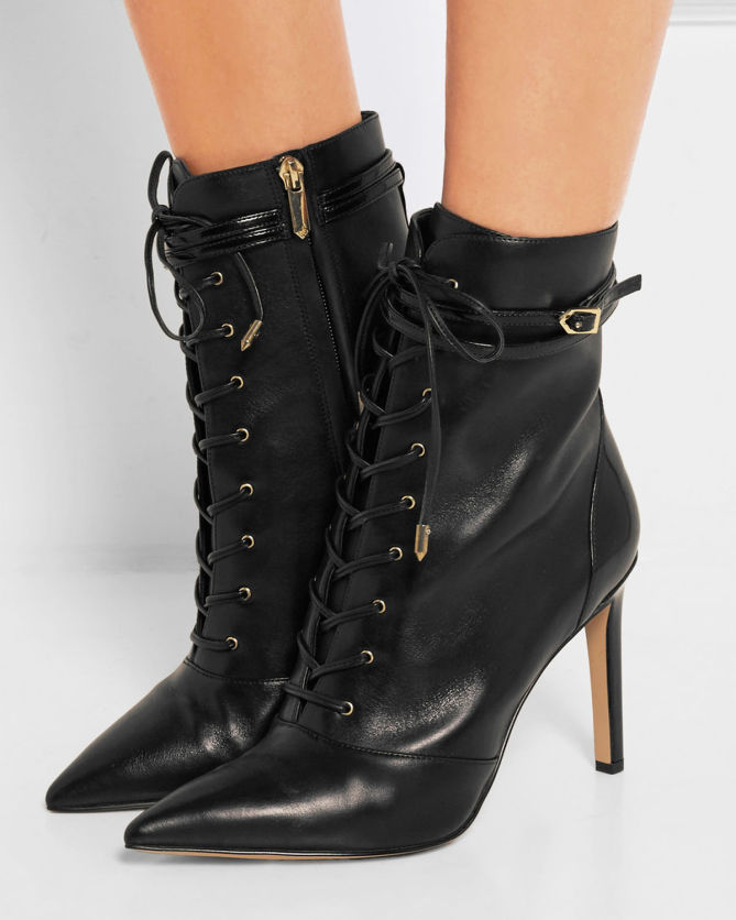 a12ce6d146bf SAM EDELMAN Bryton Leather Ankle boots