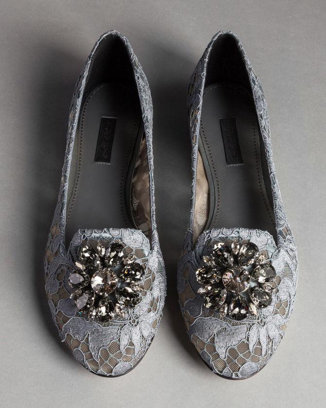 Dolce & Gabbana Glitter Flats 0gNefn