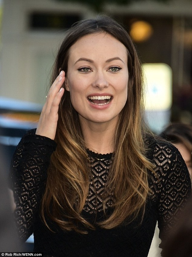 Olivia Wilde Is All Sorts Of Sexy And Quirky In Sheer Top