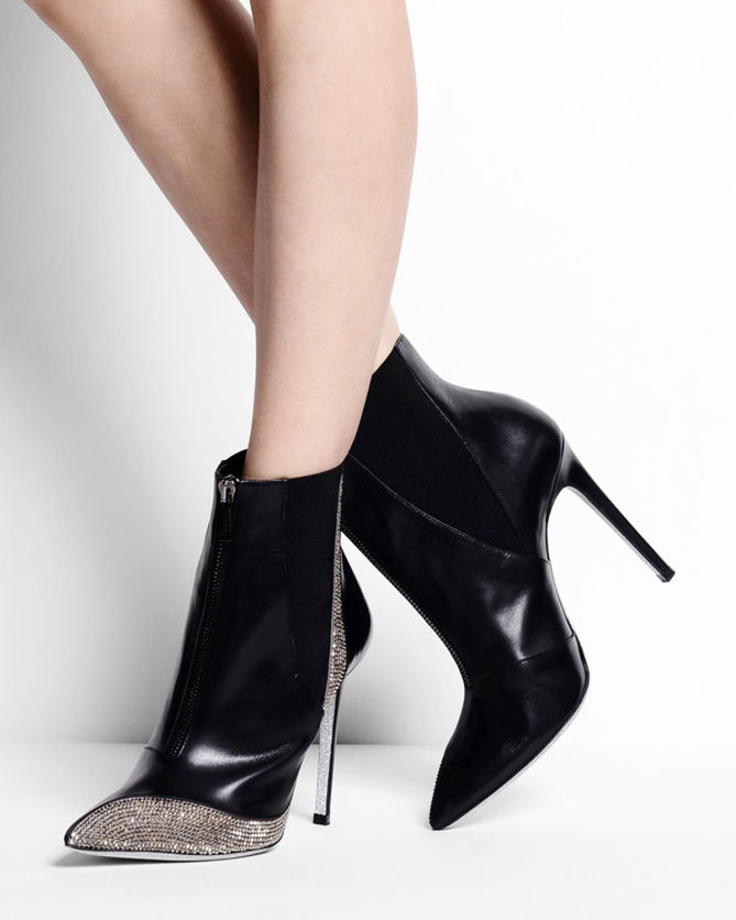 René Caovilla ankle booties cheap sale visit with paypal low price discount top quality free shipping order clearance affordable KESs3YYv