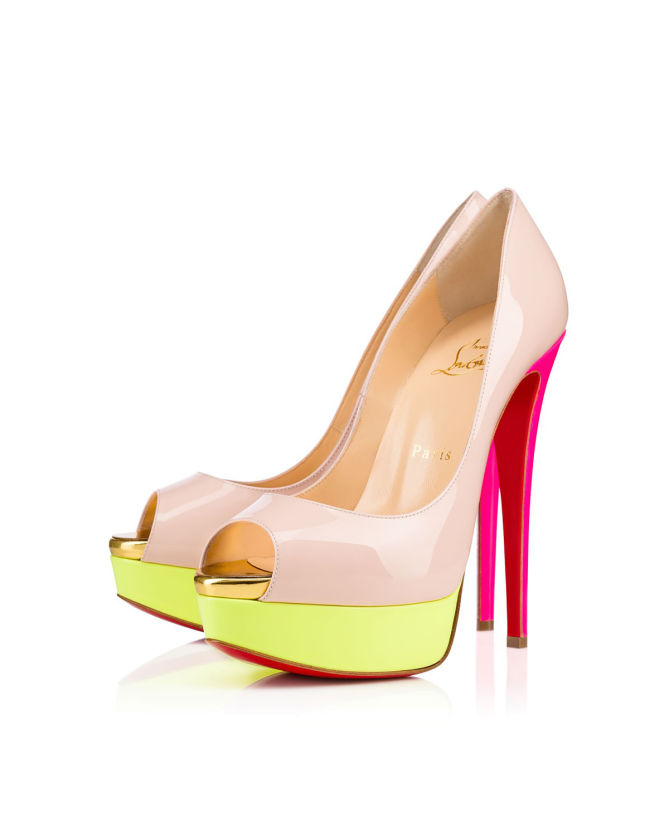 buy popular 78bc2 383ea Christian Louboutin Lady Peep 150 mm - Shoes Post