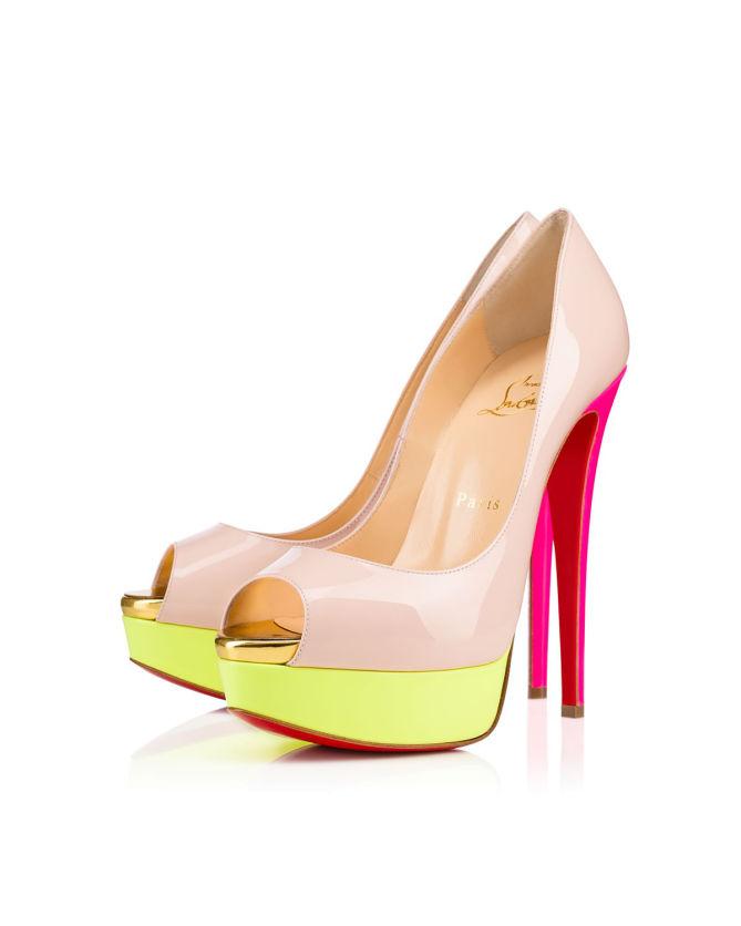 buy popular 4458d 7e712 Christian Louboutin Lady Peep 150 mm - Shoes Post