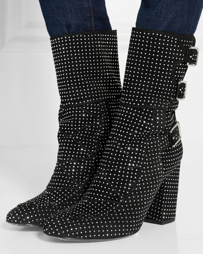 discount outlet from china Laurence Dacade Suede Studded Ankle Boots cheap sale best wholesale where to buy 4Ygw8Iag