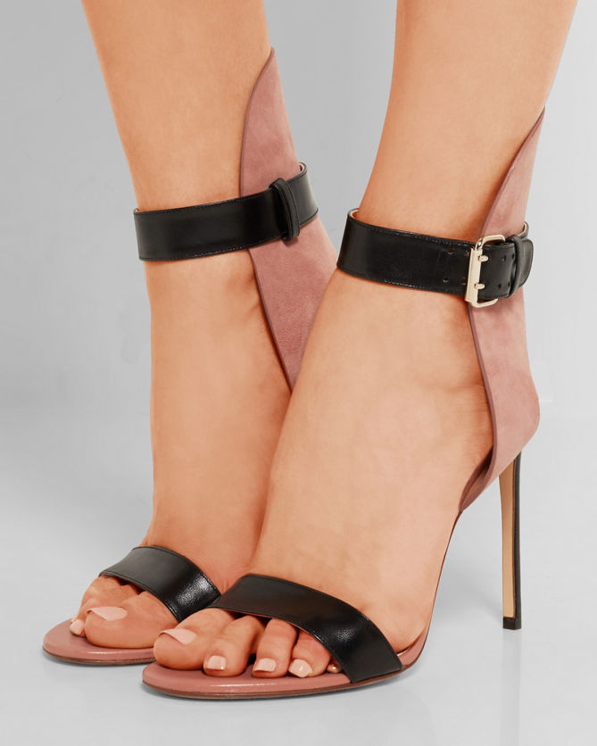 Leather sandals Francesco Russo fcrFmoqr58