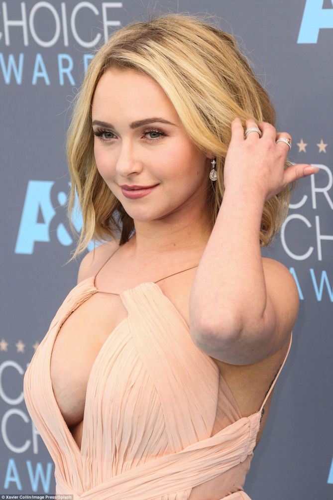 Are not hayden panettiere cleavage