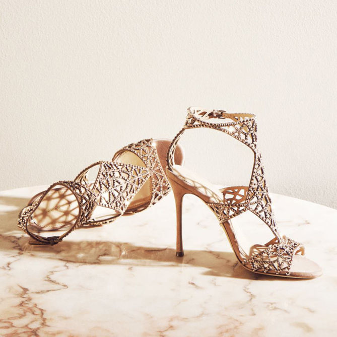 rose gold wedding shoes sergio tresor sandals shoes post 7127