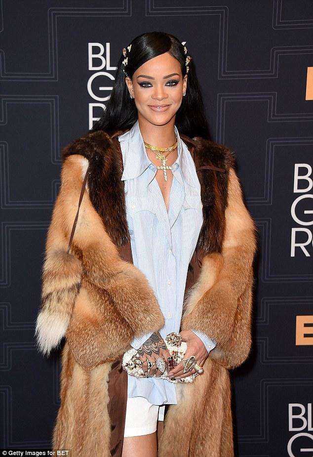 Rihanna Makes the Oxford Shirt a Red Carpet Staple at ...