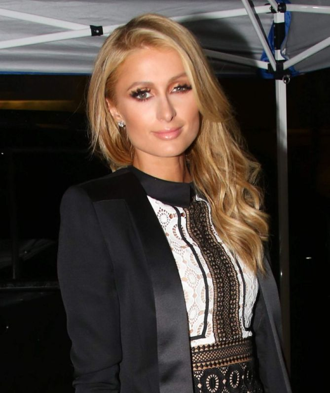 Paris Hilton Exposes Thong Undies As She Shops In Her Spiked Boots Shoes Post