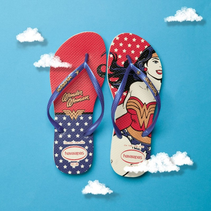 52af98956de Havaianas Navy   Red Slim Wonder Woman Sandals - Shoes Post