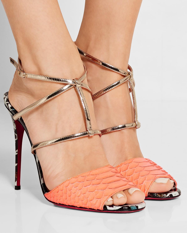 a0b60b4029e greece louboutin python sandals 635f4 1e8cb