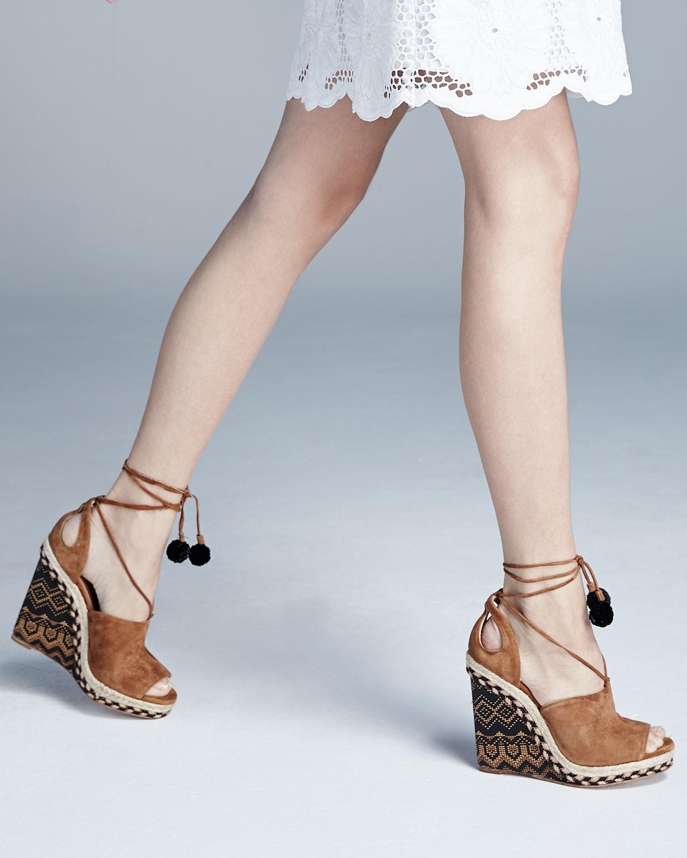 discount free shipping Aquazzura Palm Springs Wedge Sandals deals cheap online Ro2XWQ81AY