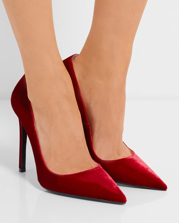 PRADA Velvet pumps – Shoes Post