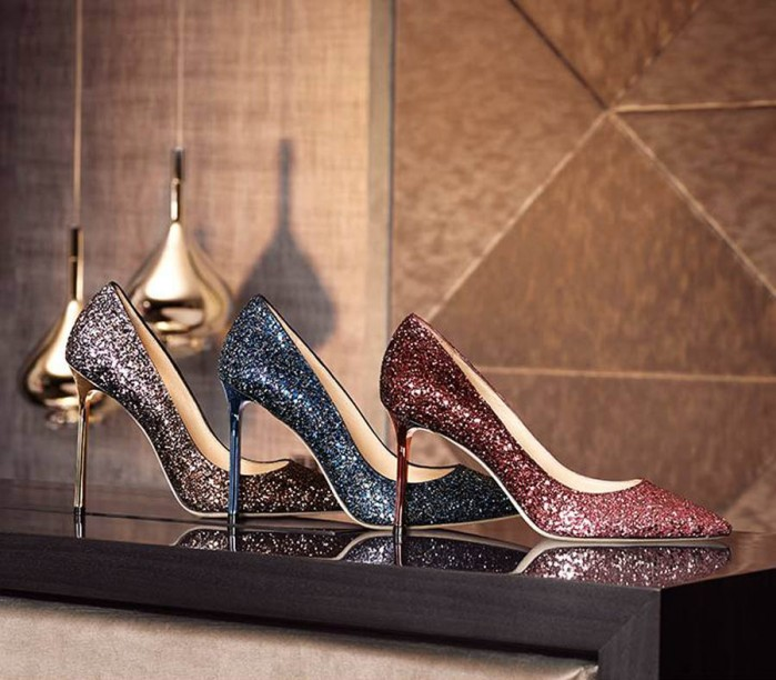 My jimmy choo high heels amp nylon covered feet upskirt - 1 7
