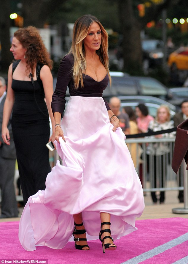 Sarah Jessica Parker Keeps It Playful In Strappy Heels At