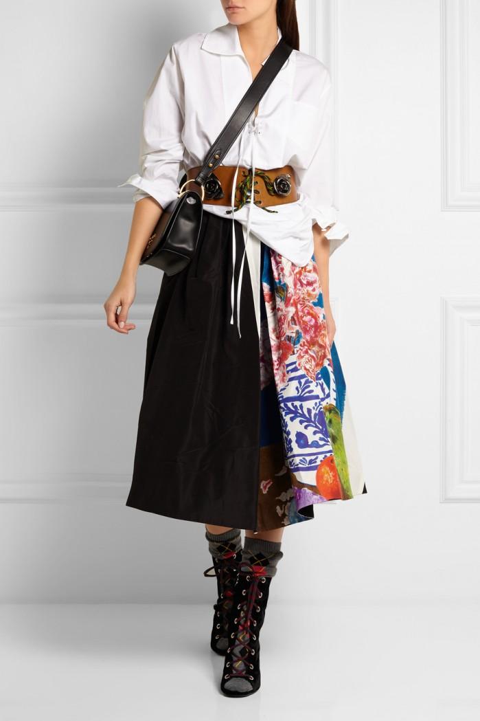 Prada Embellished Velvet Boots Shoes Post