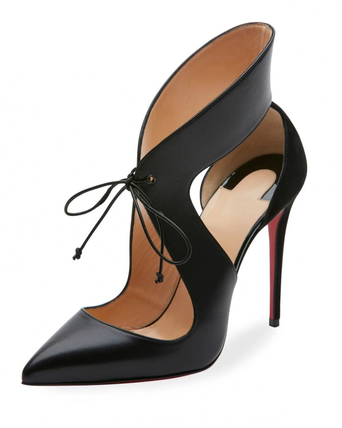 Buy Black Shoes With Red Soles