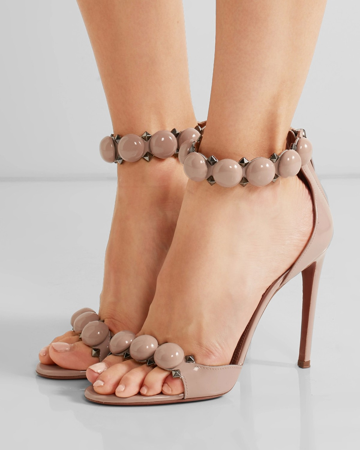 Inexpensive for sale cheap prices reliable Alaïa Studded Leather Sandals cheap sale pay with paypal sale genuine 9g6I1nyKMx