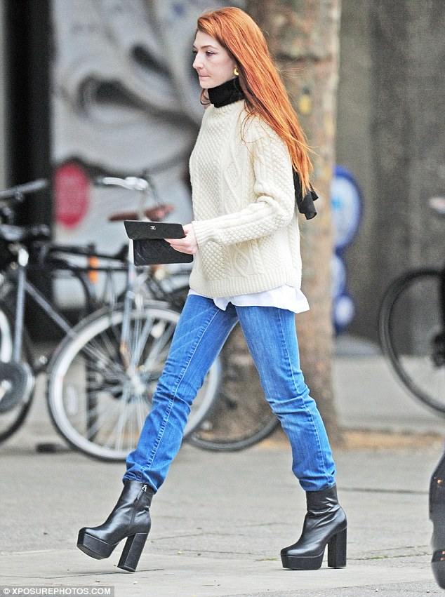 Go High With Nicola Roberts Boots Shoes Post