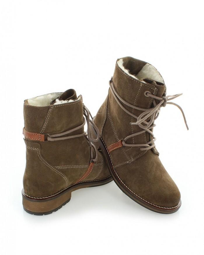 brown ankle boots tamaris shoes post. Black Bedroom Furniture Sets. Home Design Ideas