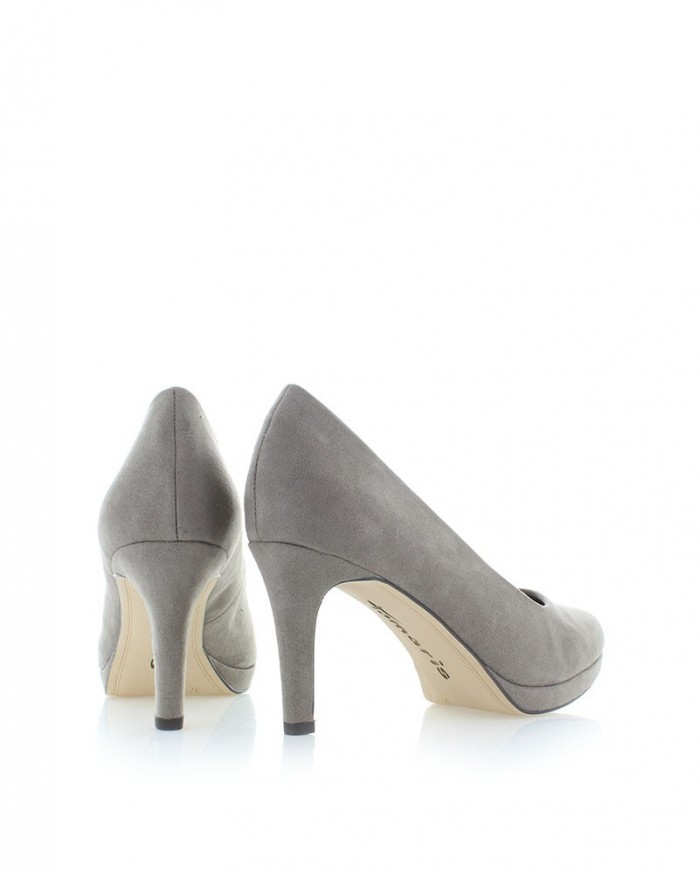 tamaris pumps lack beige gray beige pumps tamaris shoes. Black Bedroom Furniture Sets. Home Design Ideas