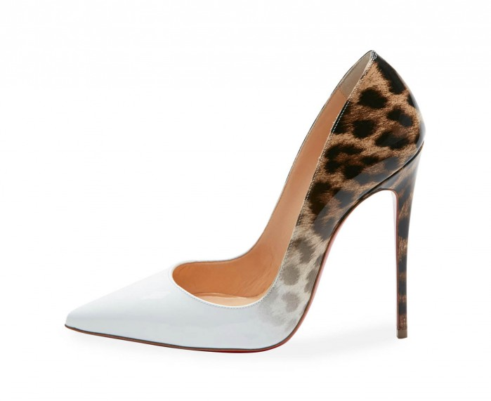 pretty nice 0073c 103d6 Christian Louboutin So Kate Degrade 120mm Red Sole Pump ...