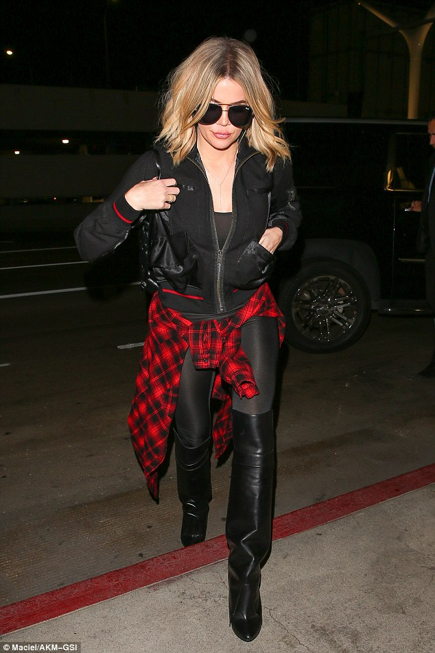 Khloe Kardashian S Over The Knee High Boots Shoes Post