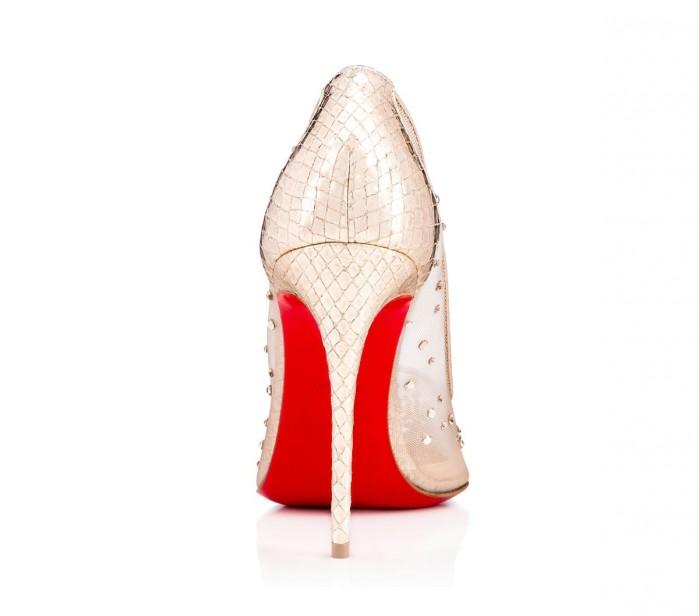 8fd456ffffb Christian Louboutin Follies Strass 100 mm - Shoes Post